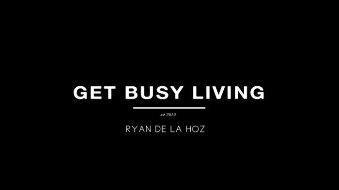 KLAX Ryan De La Hoz Get Busy Living